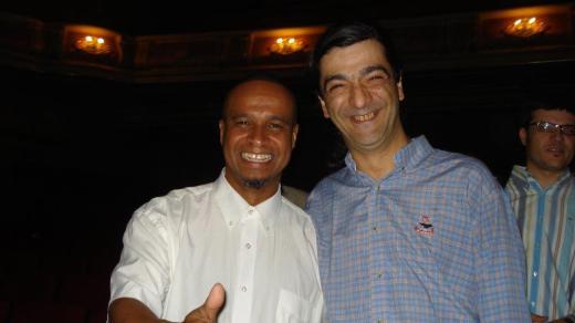 Miguel Ralha with Rogério de Sousa